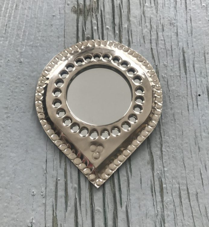 Marokkaans spiegeltje druppelvormig