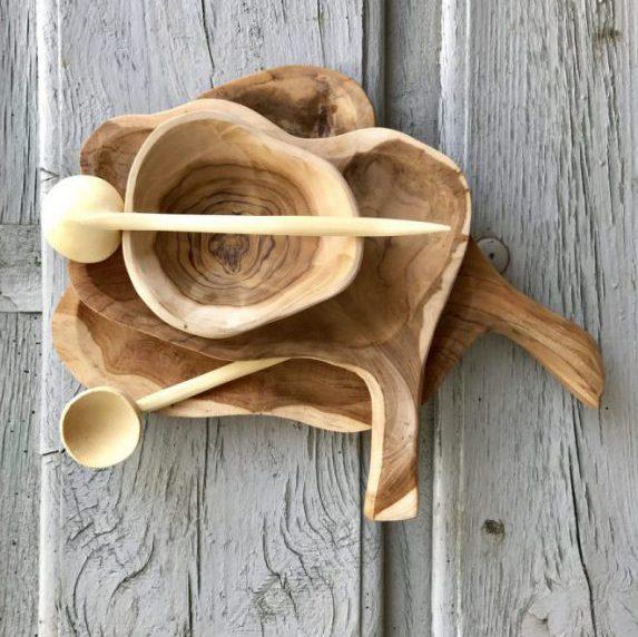 Houten Plank Met Handvat