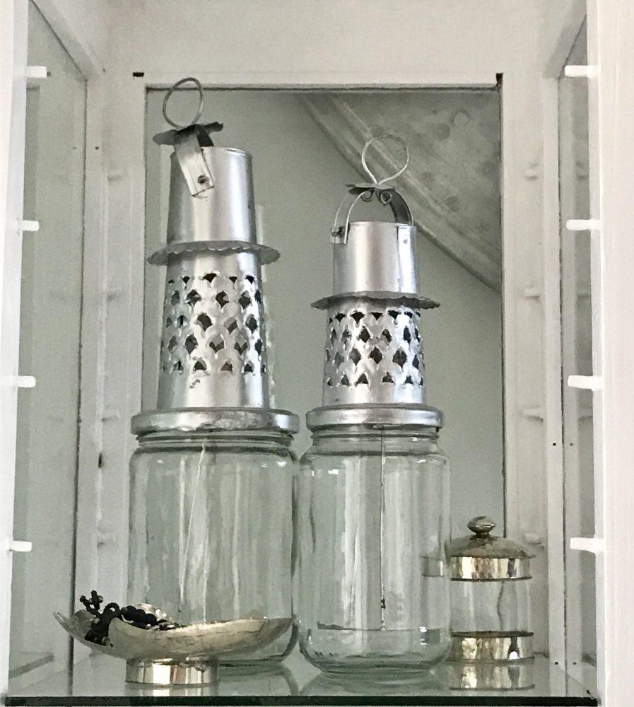 Jampot Lantaarn Zilver