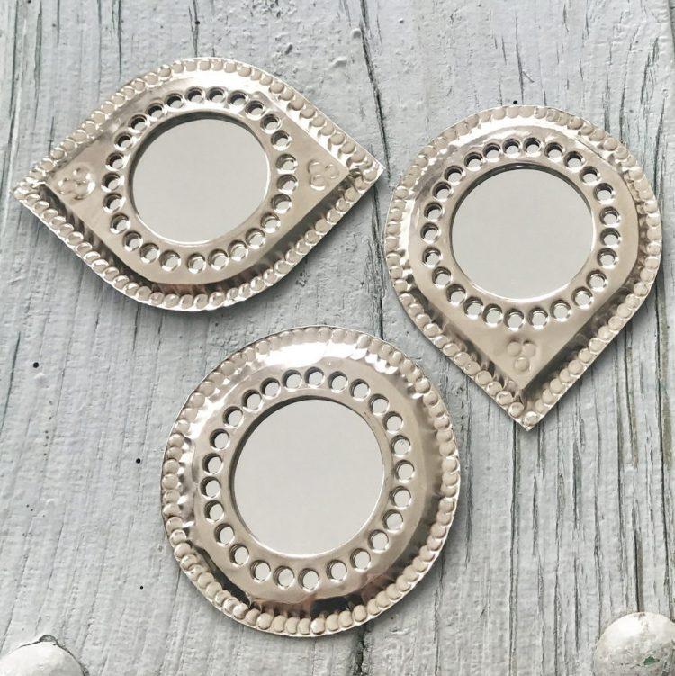Spiegel Bewerkt Zilver S