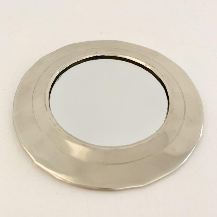 Spiegeltje Zilver Mini