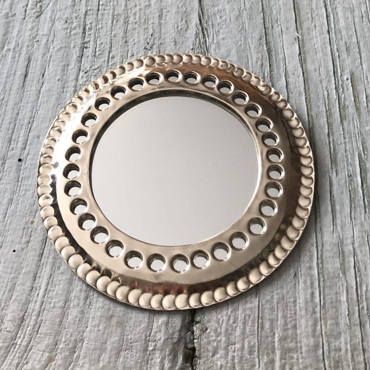 Spiegel Bewerkt Zilver M