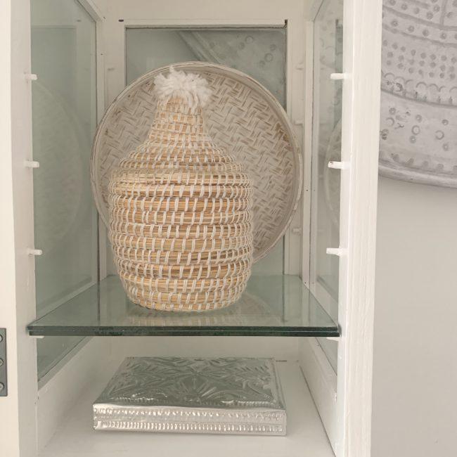Berber Basket Wit