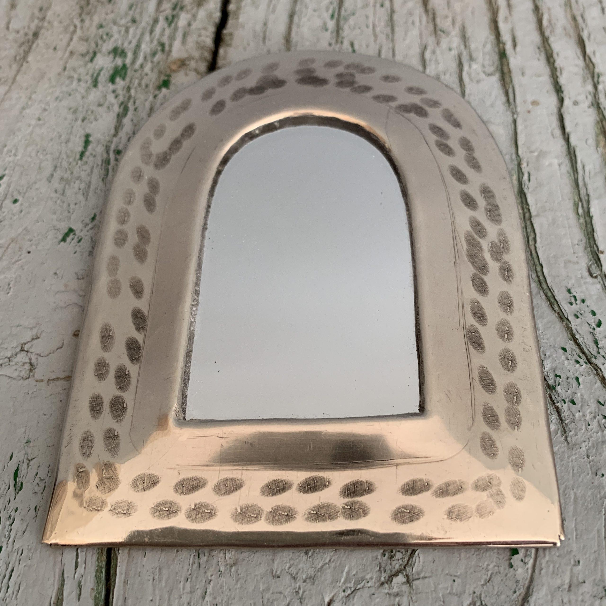 Marrokkaanse spiegeltjes zilver poort
