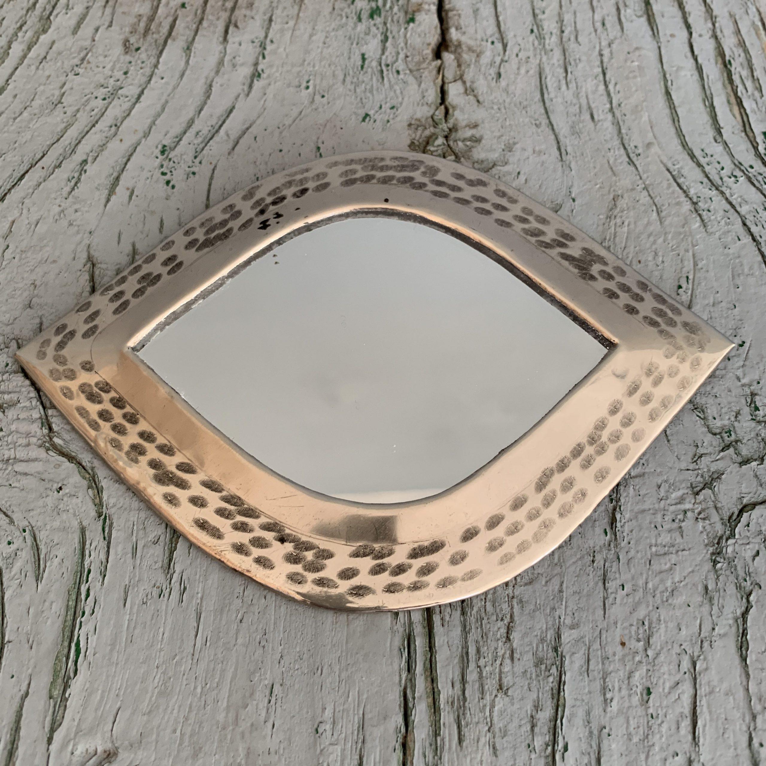 Marrokkaanse spiegeltjes zilver oog