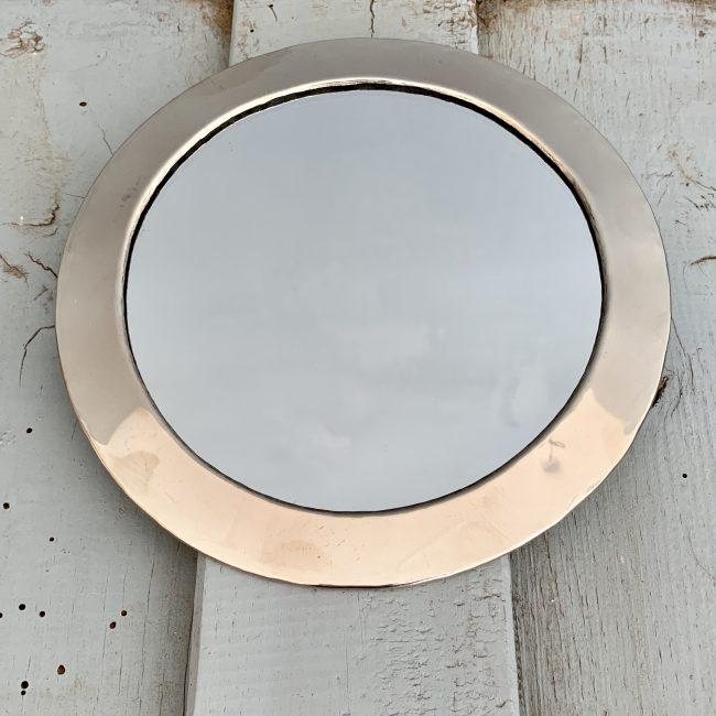 Spiegel Zilverkleurig Vorm