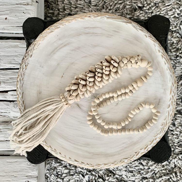 Decoratie Ketting Kauri Schelp