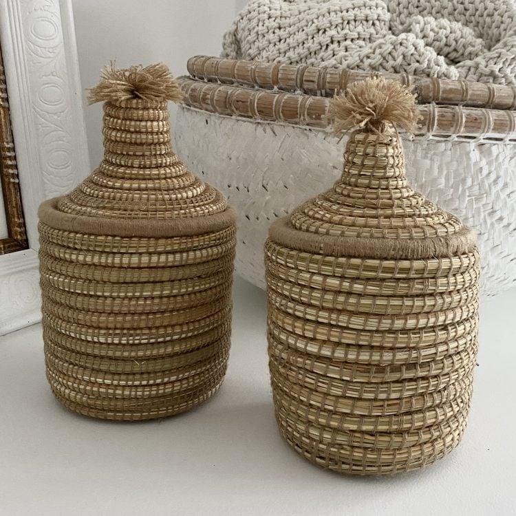 Berber Basket Lichtbruin