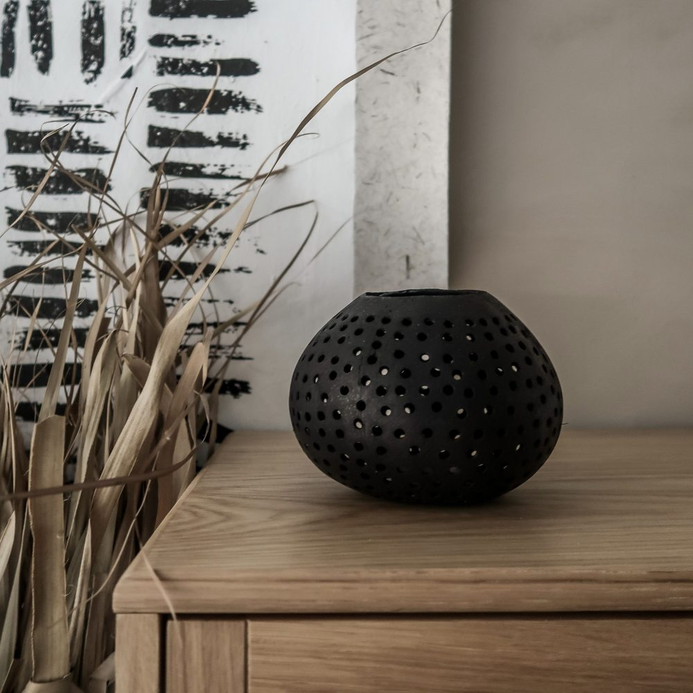 Kokosnoot Waxine Zwart