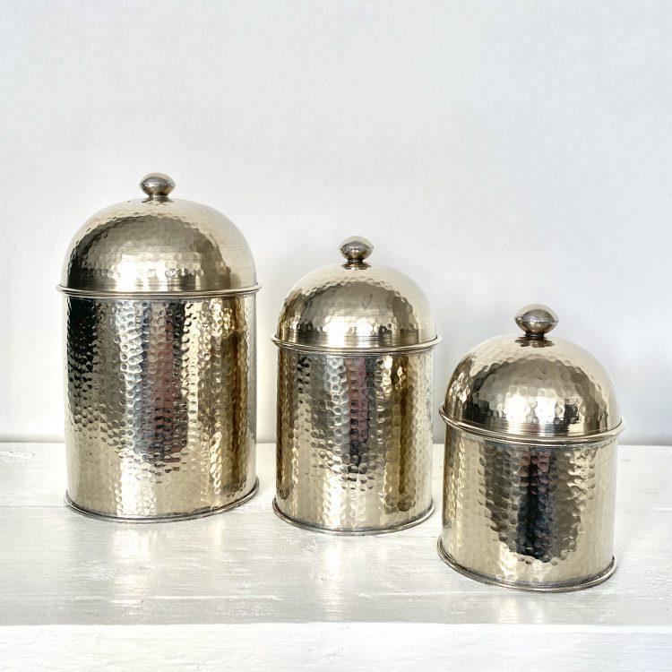 Zilver potten