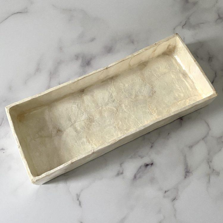 Tray capiz schelp
