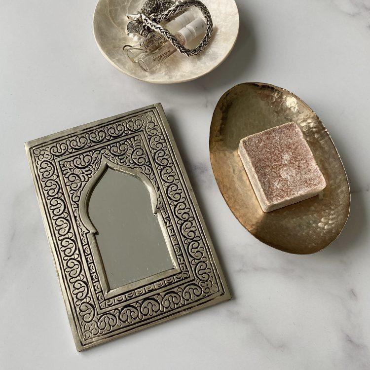 Spiegel Poort Zilver
