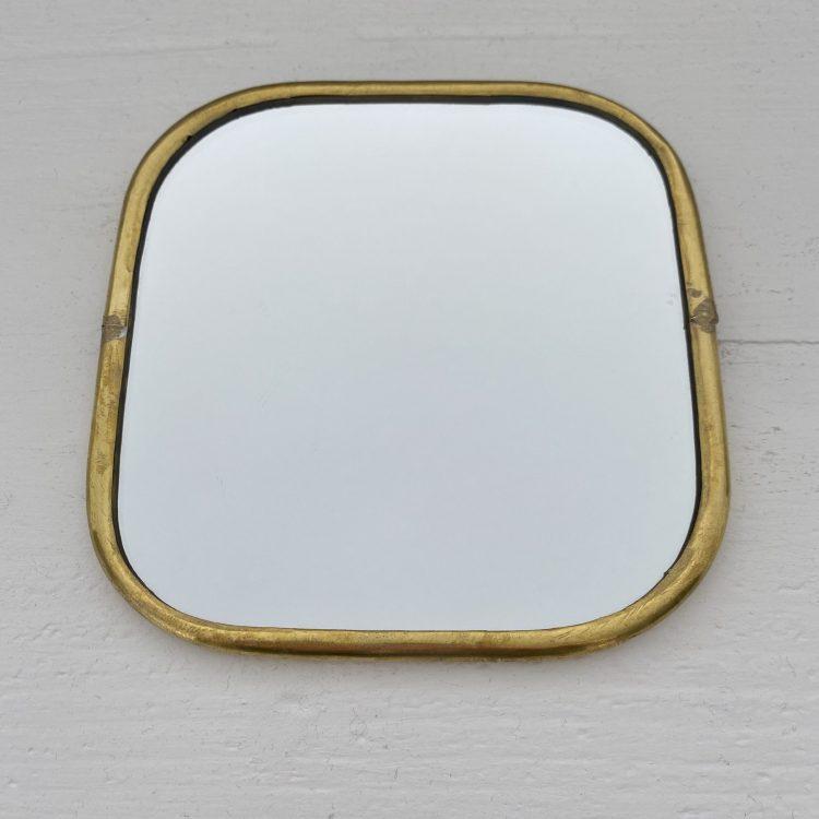 Spiegel dunne rand vierkant