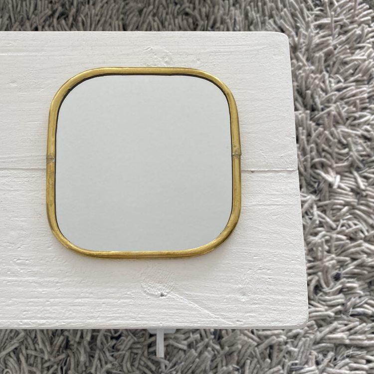 Spiegel vierkant dunne rand