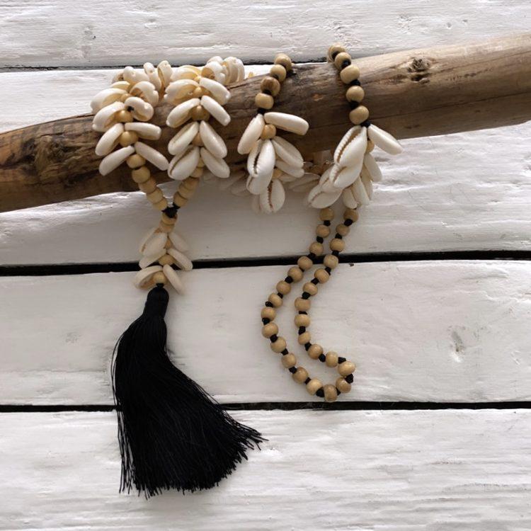 Ketting Kauri Flosje zwart
