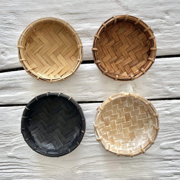 Bamboe offerschaaltjes model xs