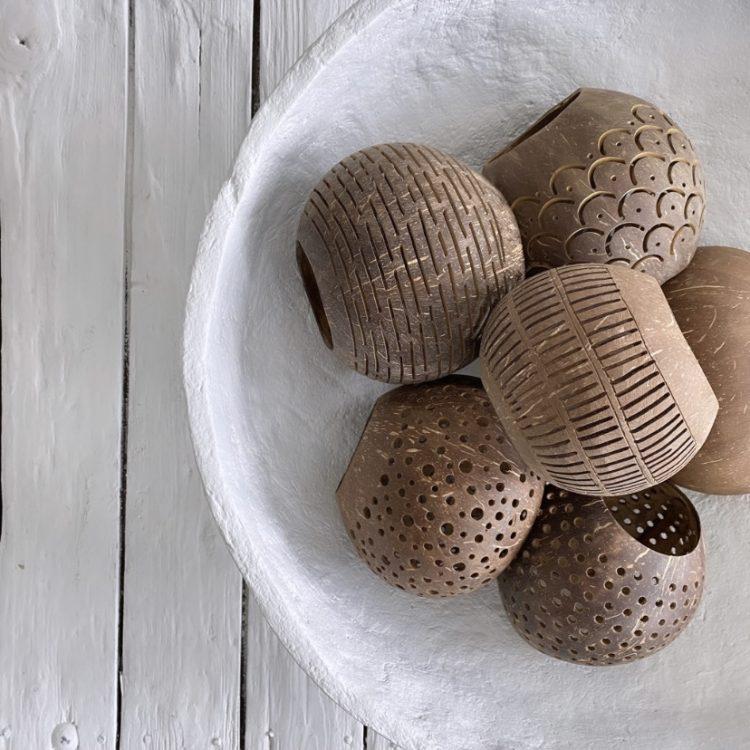 Kokosnoot Waxine Bruin